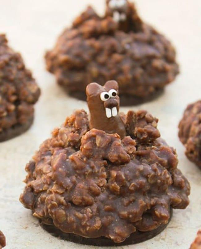It's Groundhog Day! 16 Free Teacher Ideas - popup groundhog cookie - Teach Junkie