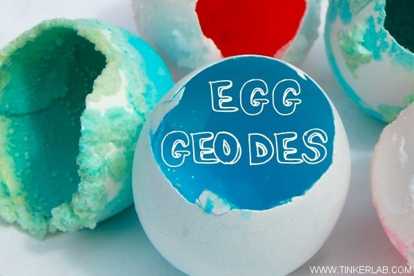 Science In a Shell: Egg Geodes