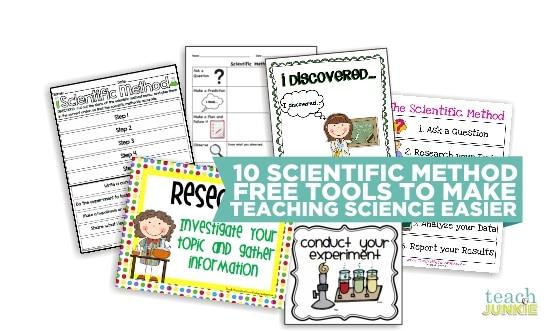 Teach Junkie: 10 Scientific Method Tools to Make Teaching Science Easier