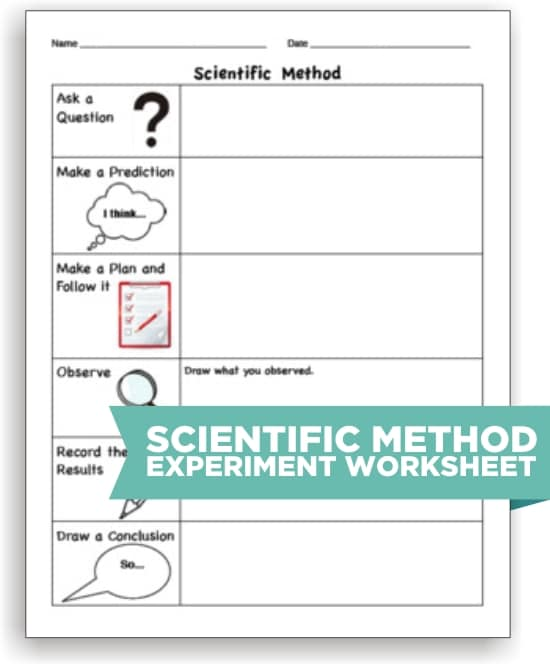 photograph regarding Printable Scientific Method Worksheet identify 10 Medical Solution Resources toward Create Science Less complicated - Educate Junkie