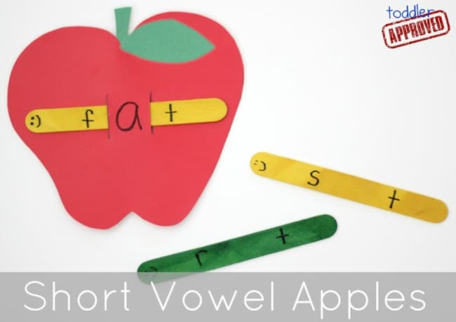 short vowel apples