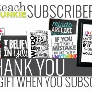 Thank You Gift for Email Subscribers